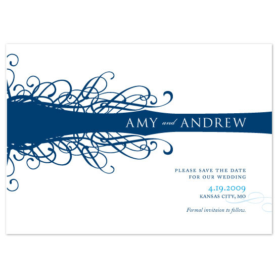 save the date cards - Entwined by Jennifer Amy Designs