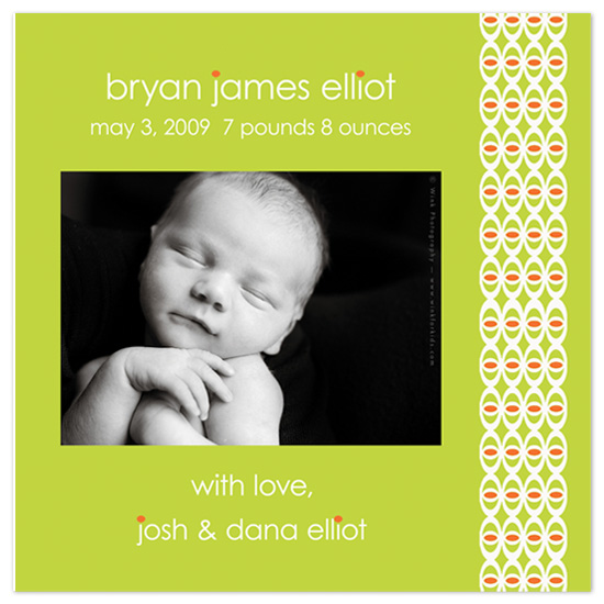 birth announcements - Yeah Baby by Colleen Garrison