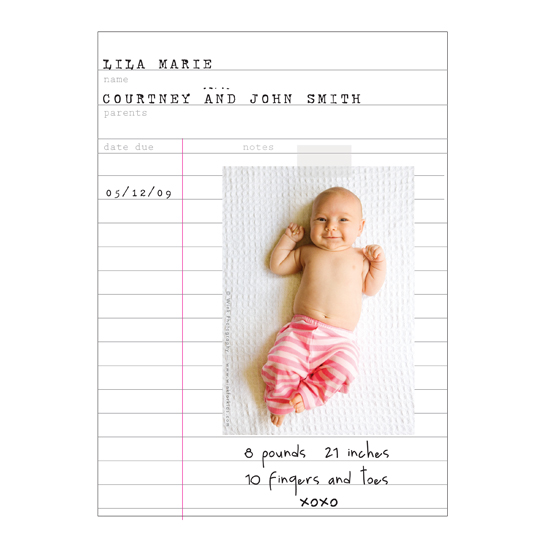 birth announcements - lila marie by .cevd.