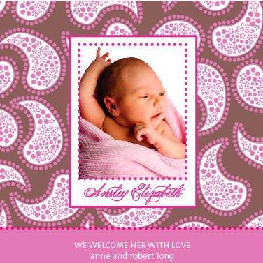 birth announcements - pattern + graphic by ciao•tay