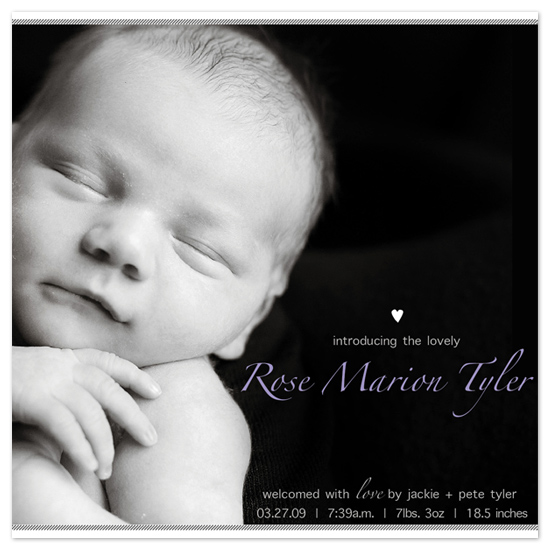 birth announcements - Lovely by ariel.body