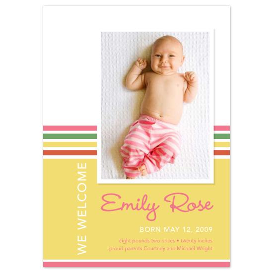 birth announcements - Ice_cream Sundae by Natalie Sullivan Graphic Design