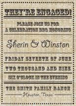 A Country Affair by Fresh Press Invitations
