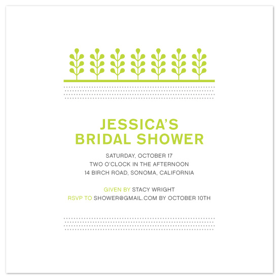 wedding stationery - Clean and Greenery by Maddy