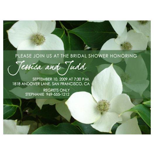 wedding stationery - The Dogwood by Grafik Expressions