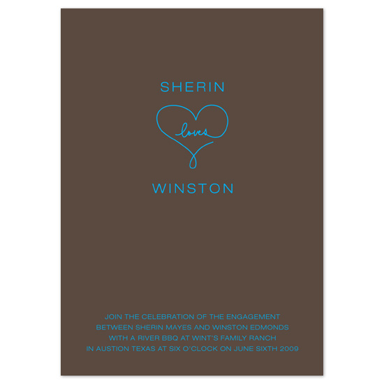 wedding stationery - sweetheart by Baumbirdy