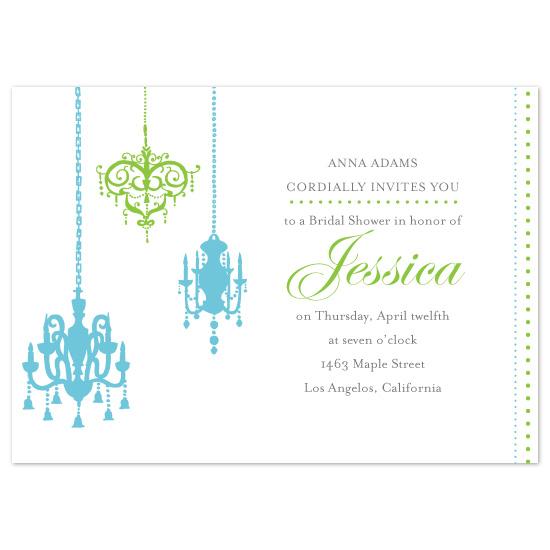 wedding stationery - Fine-Art-Chandelier by Megan Rotondo