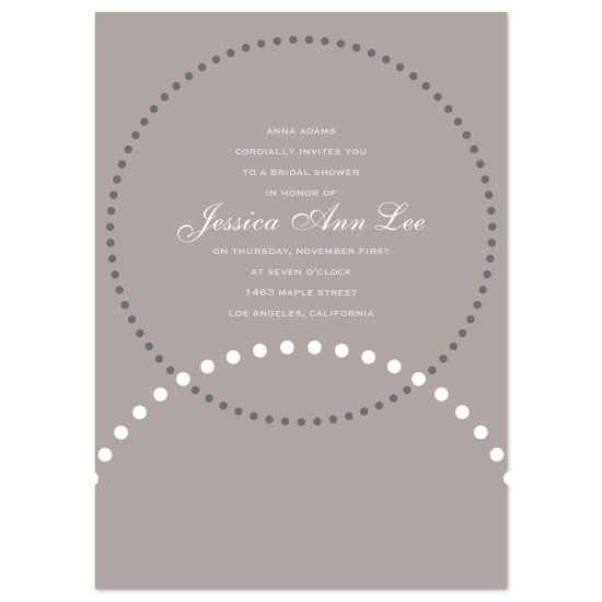 wedding stationery - wedding bands by suite p