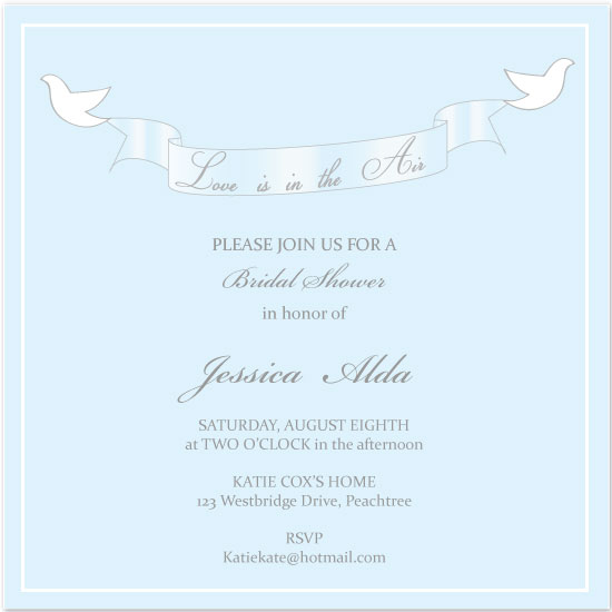 wedding stationery - Love is in the Air by Sharon