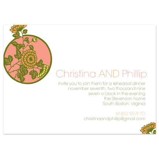 wedding stationery - East Meets West by Splendid Press