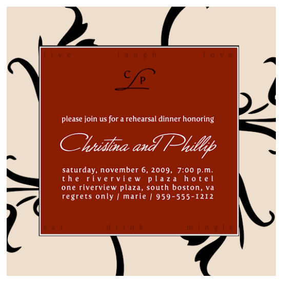 wedding stationery - Intensity by Grafik Expressions