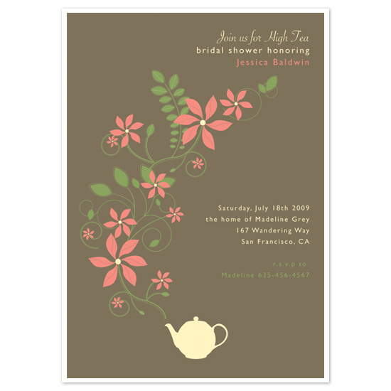 wedding stationery - High Tea by l