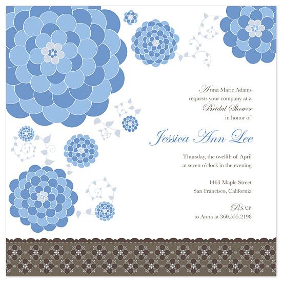 wedding stationery - Dahlia Garden by Sarah Stamps
