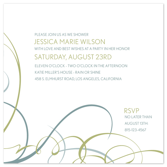 wedding stationery - Modern Movement by Ten26 Design Custom Invitations