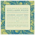 Classiquement Gras by Ten26 Design Custom Invitations
