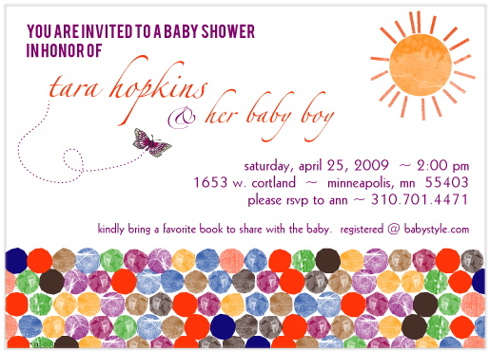 baby shower invitations - A New Beginning by Mielle Design Studio