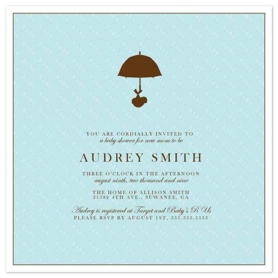 baby shower invitations - BABY SHOWER by Kristy Fischer