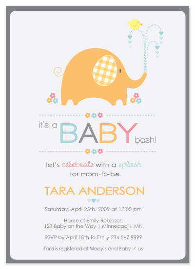 how to design a baby shower invitation, Baby shower
