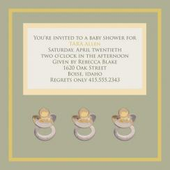 Baby Fun Invitation