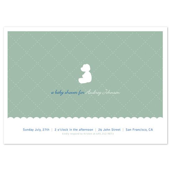 baby shower invitations - Teddybear by l