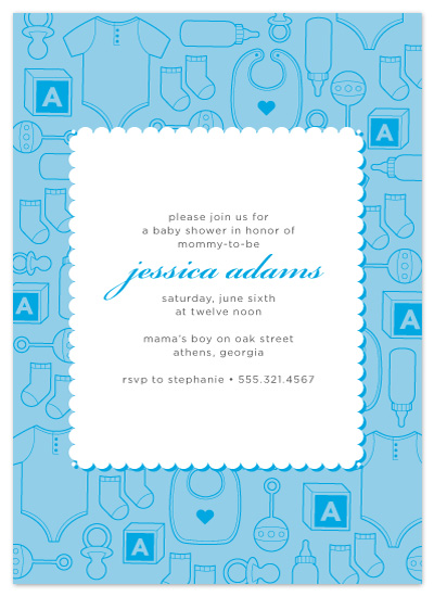baby shower invitations - Sweet Essentials by Maddy