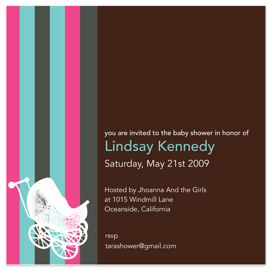 baby shower invitations - Baby's Love Design by Andres Montaño