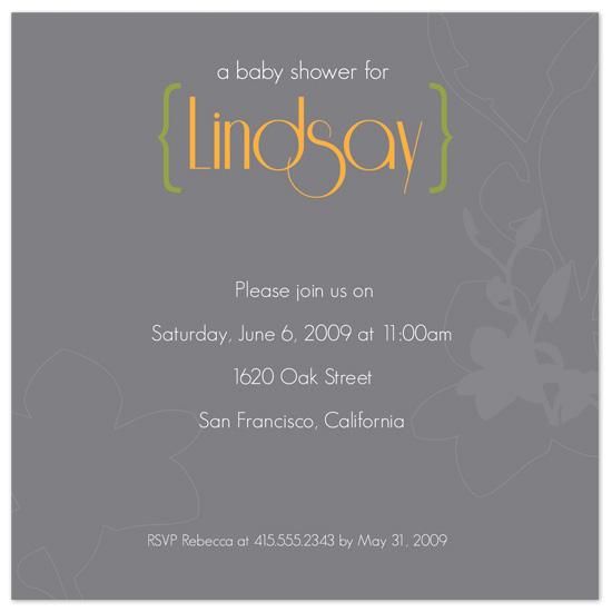 baby shower invitations - Modern Flourish by Jayda