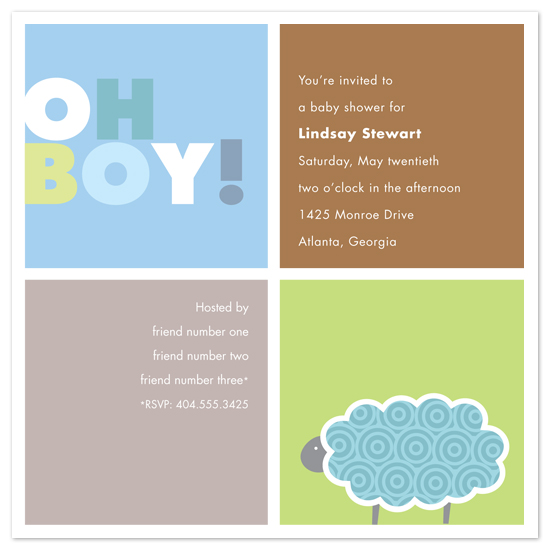 Baby Boy Shower Invitation Images ~ Baby shower invitations boy squares at minted