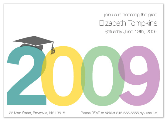 party invitations - 2009 by Meghan Walsh
