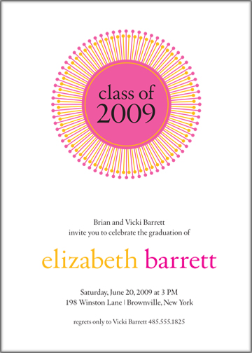 party invitations - Cosmo by Susan McArdle