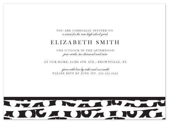 party invitations - 2009 by Kristy Fischer