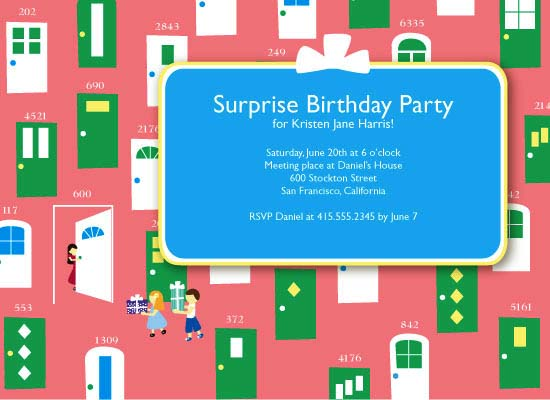 party invitations - Birthday Kid on the Block by MiLo