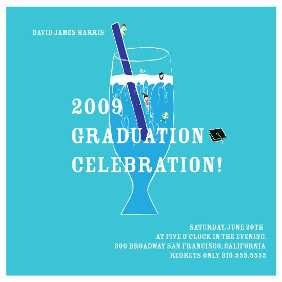 party invitations - 2009 Graduation Celebration by MiLo