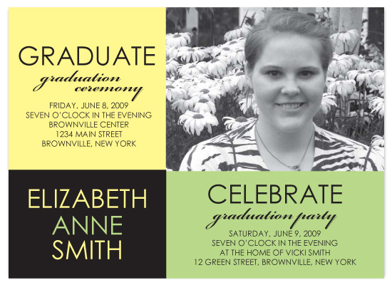 party invitations - graduate celebrate by Jessica Armstrong