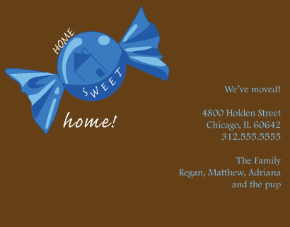moving announcements - Home Sweet Home by Meggie Kaplan