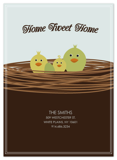 moving announcements - Home Tweet Home by Kristy Fischer