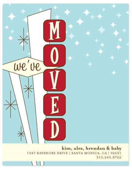 moving announcements - Retro Move by Three Kisses Studio