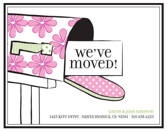 moving announcements - Fresh Mail by Three Kisses Studio