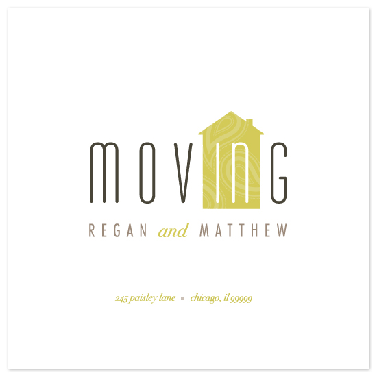 moving announcements - moving IN by kelli hall