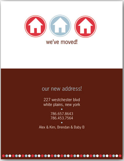 moving announcements - 3 House Moving Announcement by Kristin Woodwick