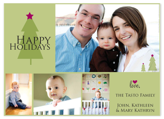 holiday photo cards - Family Tree by Jessica Armstrong