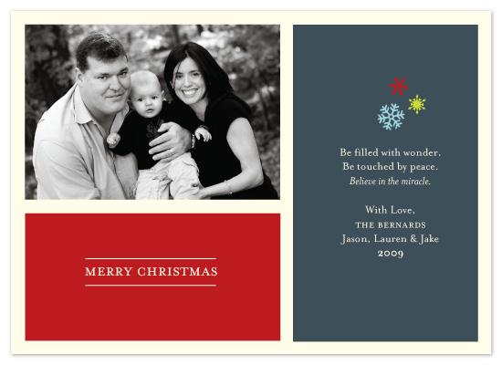 holiday photo cards - Snowflake Wonder by McKenzie Estes
