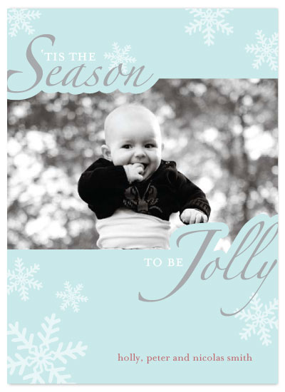 holiday photo cards - Tis the Season by Three Kisses Studio