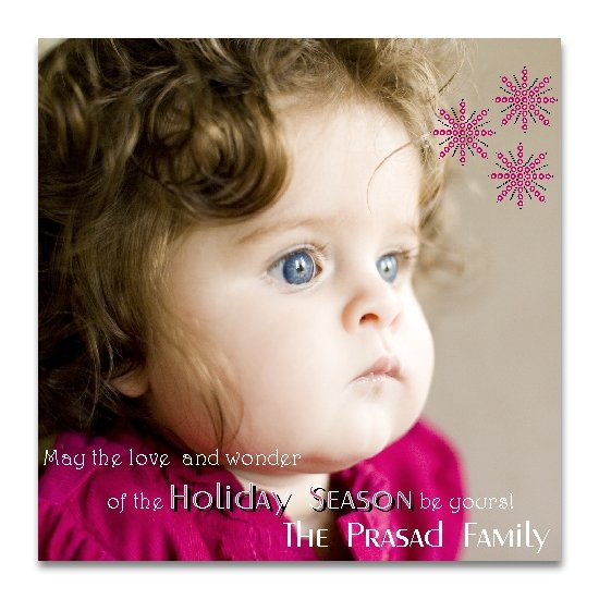 holiday photo cards - Love and Wonder by Lemon Lizard Designs