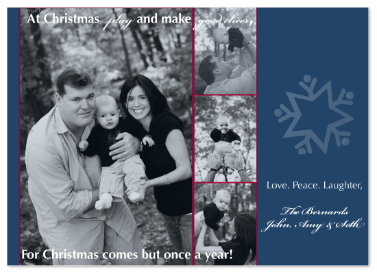 holiday photo cards - Traditional Card by Hailey