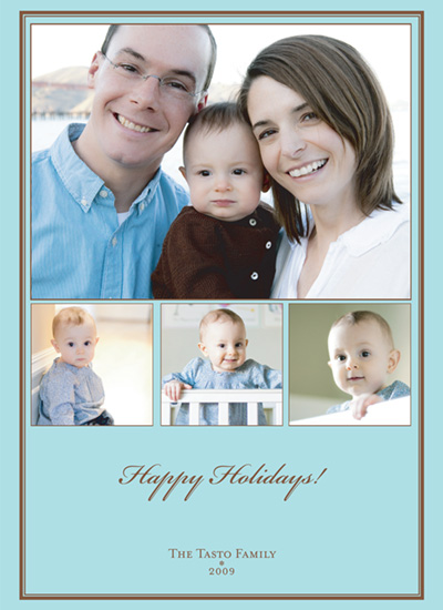 holiday photo cards - The Multi-Frame Classic by Ri.S.K./Little Yeti