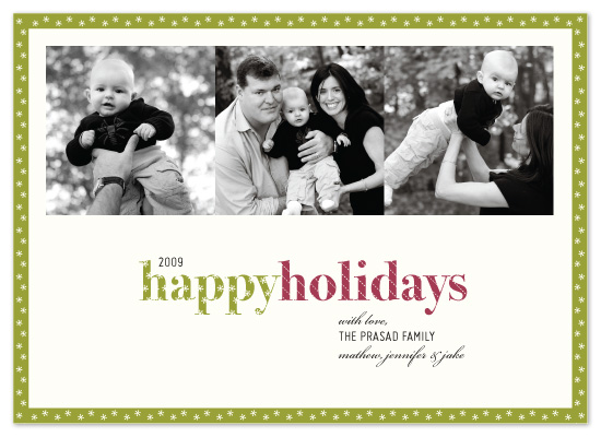 holiday photo cards - Let It Snow by McKenzie Estes