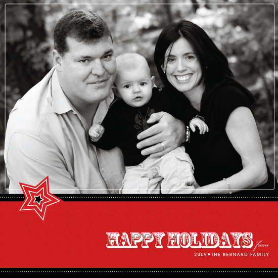 holiday photo cards - A Star Holiday by Sandhya Rao