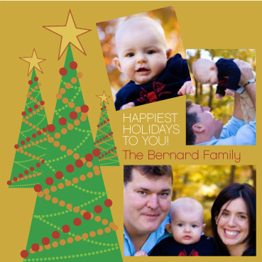 holiday photo cards - TriTreeHoliday by Dan H.