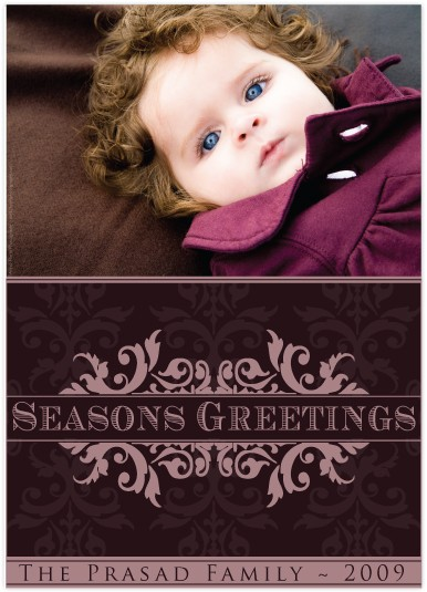 holiday photo cards - Royal Wishes by J Sosa